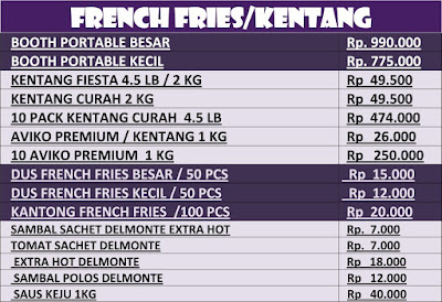 harga-french-fries