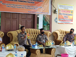 Silaturahmi Kamtibmas, Kapolres Pangkep Ajak Masyarakat Sukseskan Pilkada