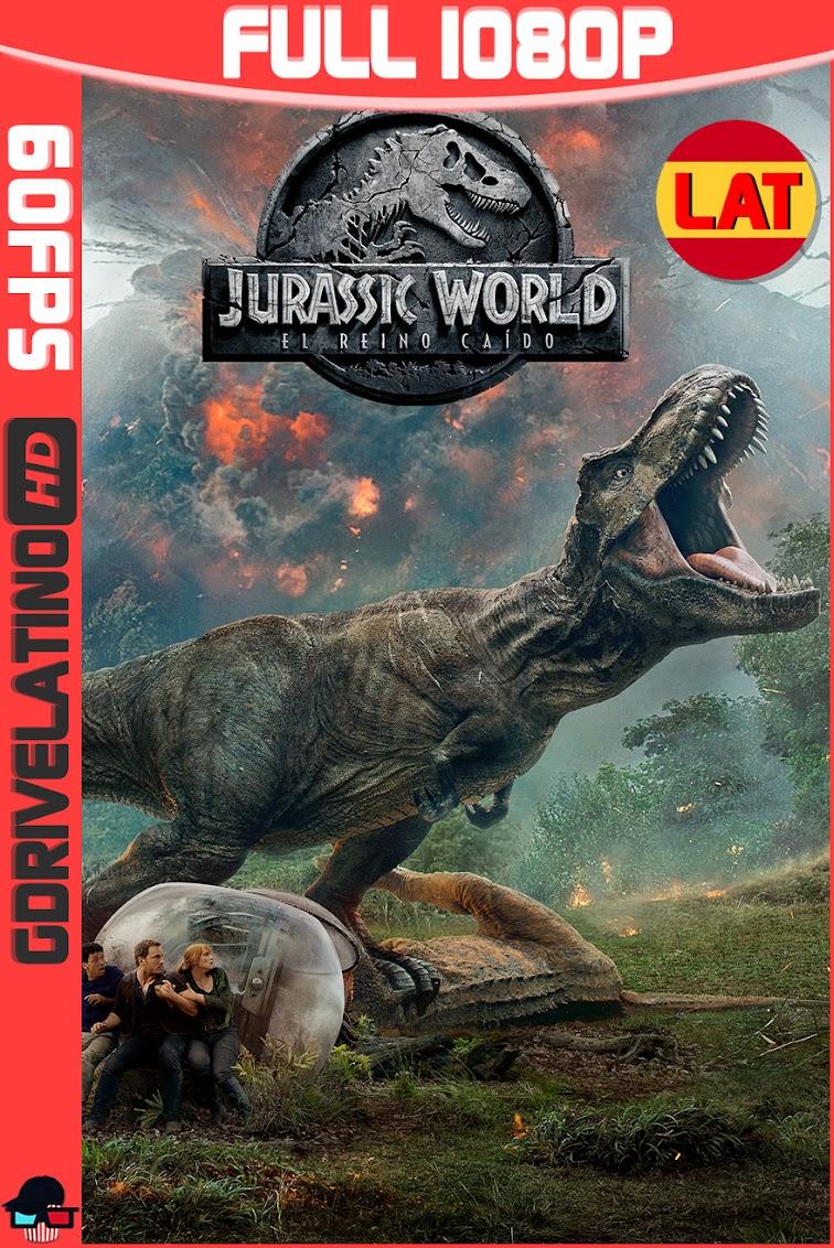 Jurassic World : El Reino Caido (2018) BDRip 1080p (60fps) Latino-Ingles MKV