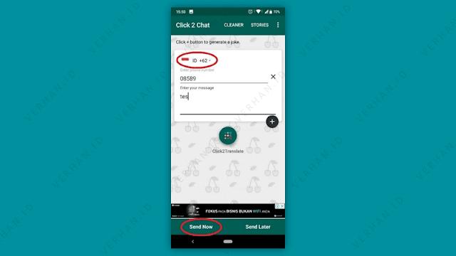 chat whatsapp menggunakan click to chat
