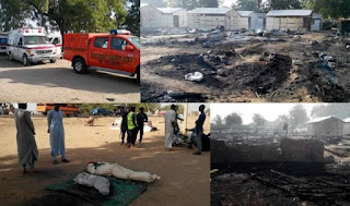 BREAKING news! A male  Suicide Bomber Blast Mosque in Maduguri..(PHOTOS)