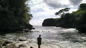 Saren clif Bulian Nusa Penida