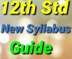 12th Std All SubjectGuide 2020