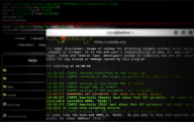 Cara Hack Website dengan Metode Upload Shell menggunakan Sqlmap
