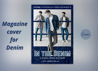 Magazine cover for Denim