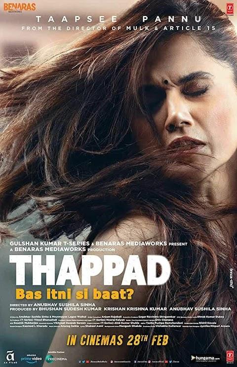 Thappad (2020) Hindi 480p & 720p WEB-DL Full Movie