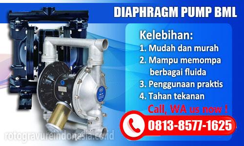 Jual Pompa Diaphragm Pump BML | Pompa Pneumatik | Adhesive