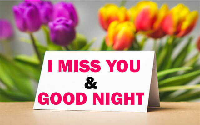 good night images with love and miss you