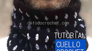 Cómo Tejer un Cuello Crochet para Hombres / Tutorial