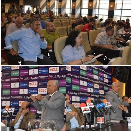 صور من قرعة كأس مصر دور ال 32