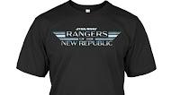 Star Wars Rangers Of The new Republic Logo T Shirt