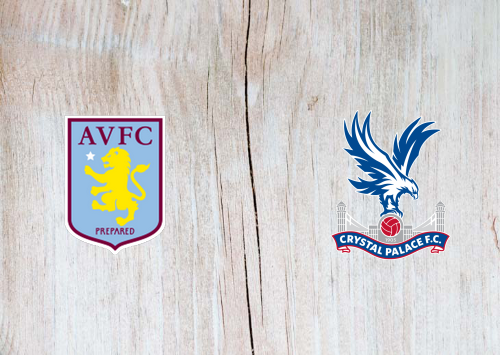 Aston Villa vs Crystal Palace -Highlights 12 July 2020