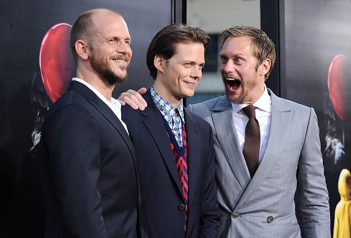 Alexander Skarsgård, Bill Skarsgård, and Gustaf Skarsgård