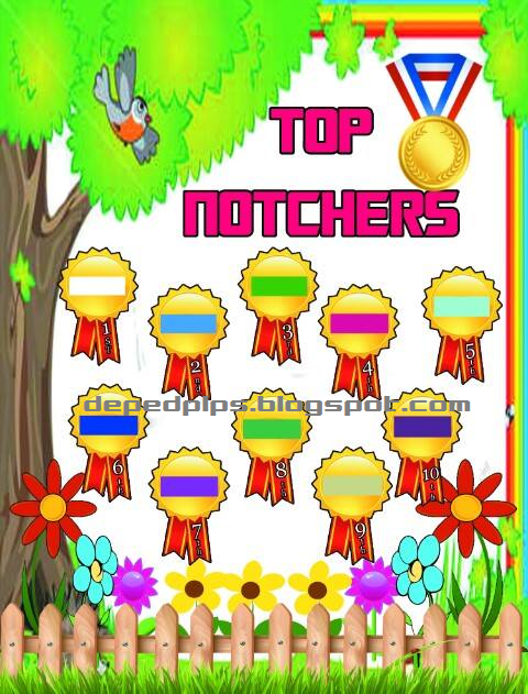 Classroom Officers Design ~ Top notchers board printable sample deped lp s