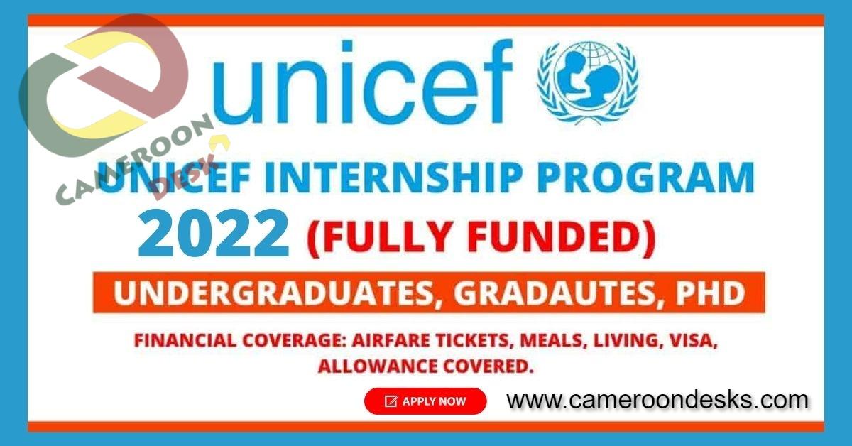 Programme de stages rémunérés de l'UNICEF 2022