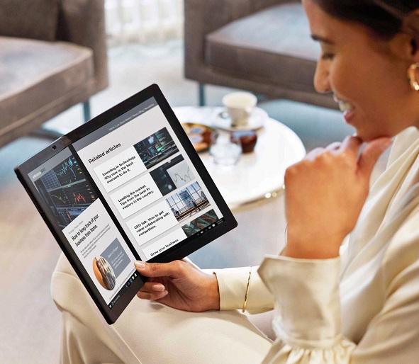 Lenovo ThinkPad X1 Fold, World's First Foldable PC