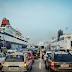 Έξοδος με καύσωνα: Το αδιαχώρητο στο λιμάνι του Πειραιά - Δεκάλεπτη καθυστέρηση στον απόπλου