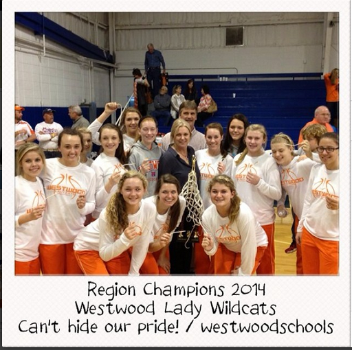 Region Champions: Westwood Varsity Girls Basketball Team