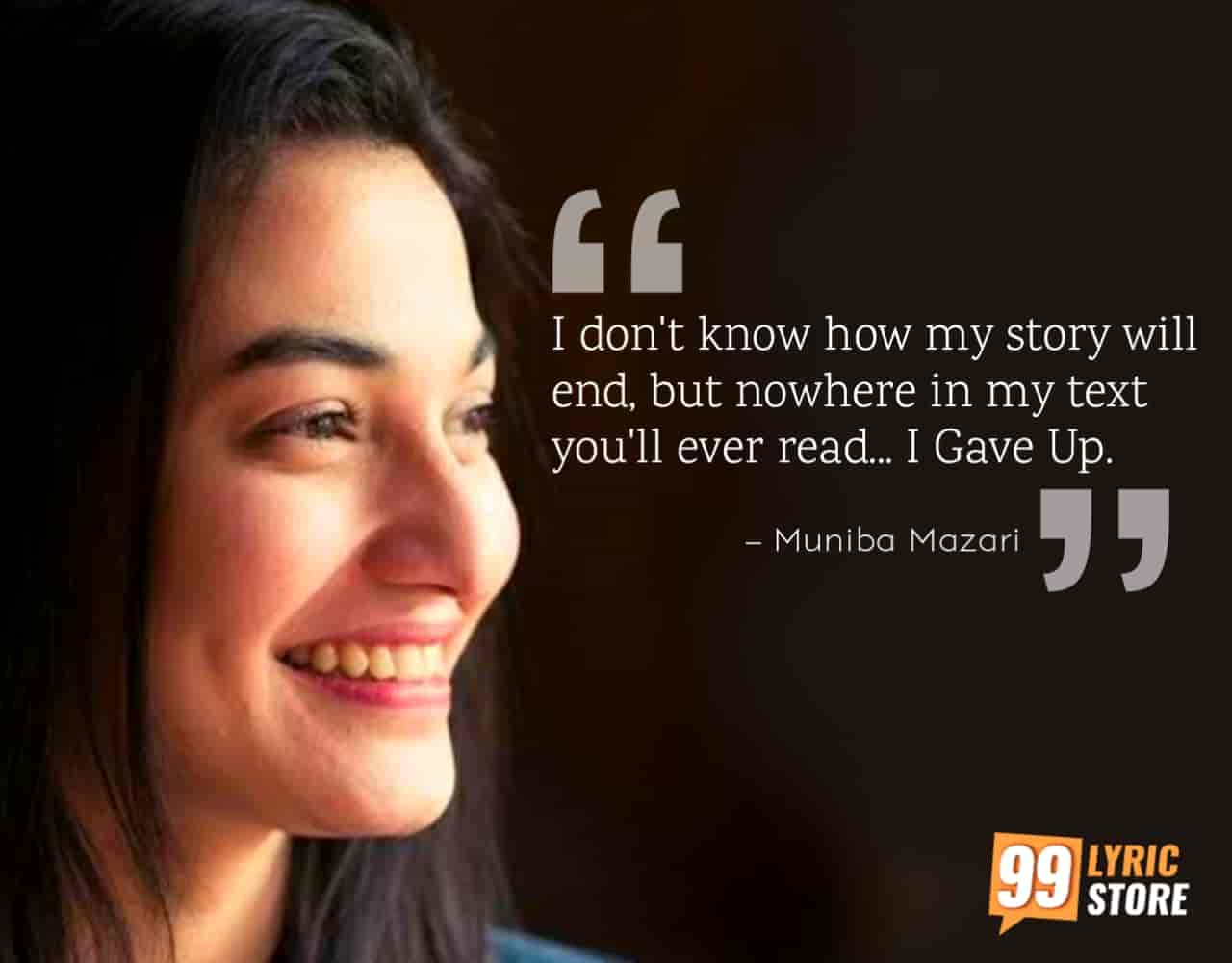 Motivational speaker Muniba Mazari gave another motivational speech which is very inspiring and also tells the life lessons of never giving up in life.