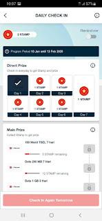 Cara Klam hadiah di Aplikasi My Telkomsel