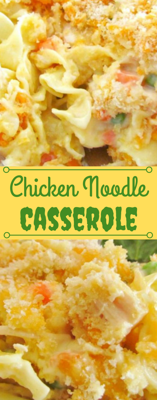 Chicken Noodle Casserole #dinner #noodle #healthyrecipes #shrimp #casserole