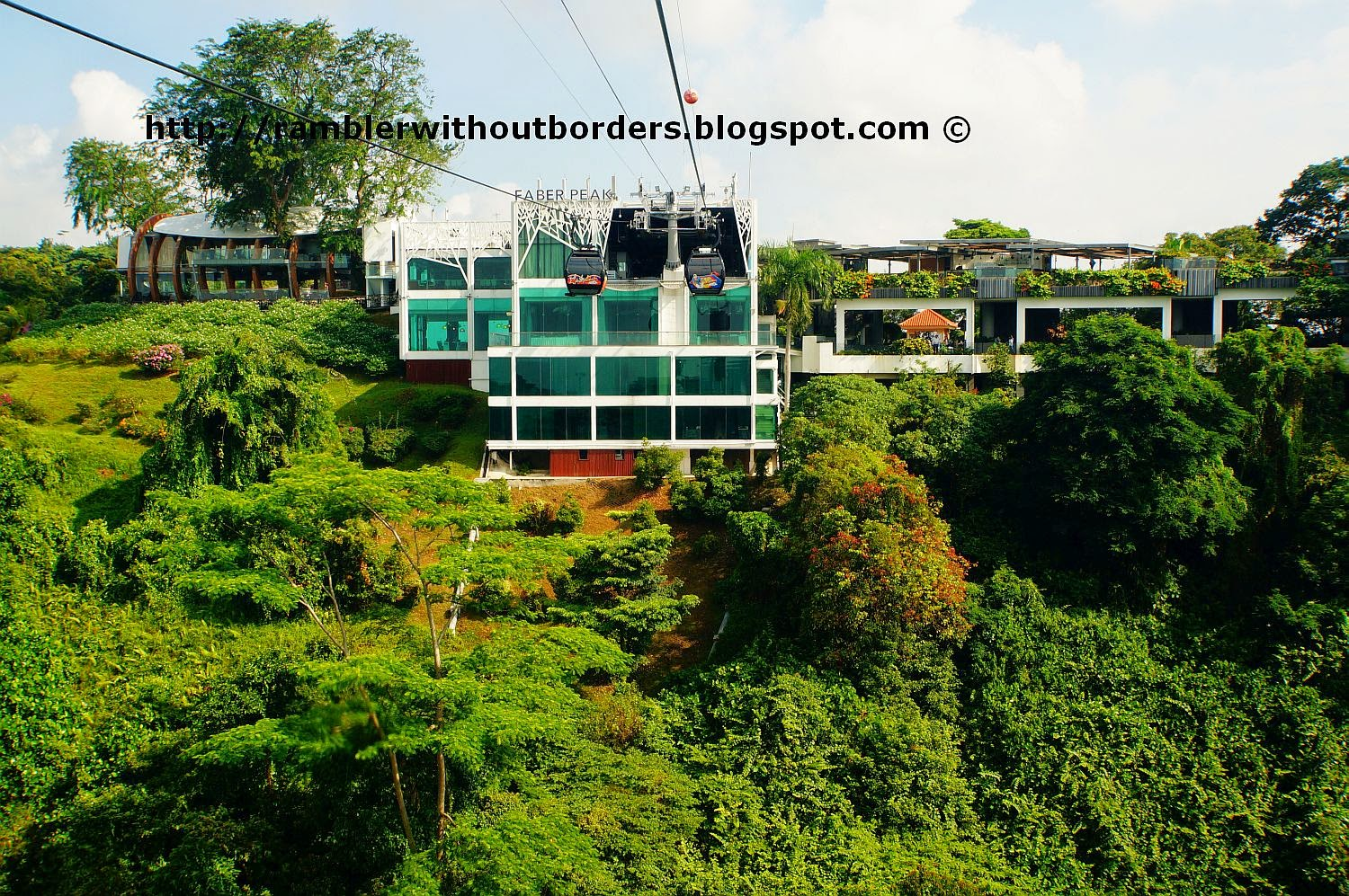Singapore Cable Car station at Mount Faber Park Peak, Singapore