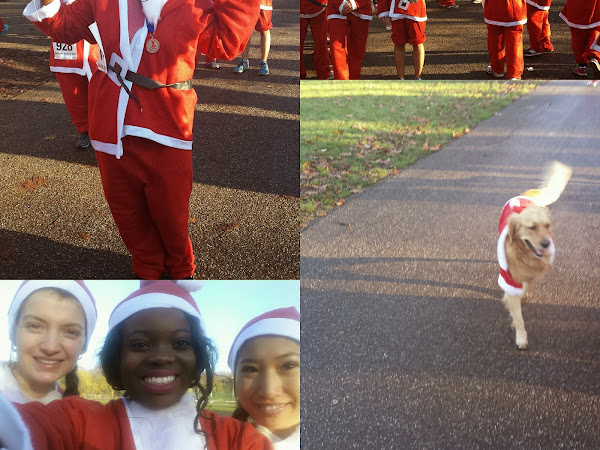 LIFESTYLE | SANTA RUN WITH JOE BLOGS AND SIMPLY HEALTH