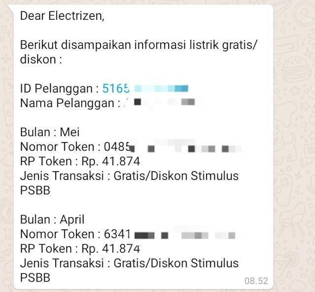 Cara mendapatkan token listrik gratis 2021 Januari melalui www.pln.co.id dan WA PLN