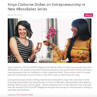 Kinya Claiborne Dishes on Entrepreneurship in New #BossBabes Series