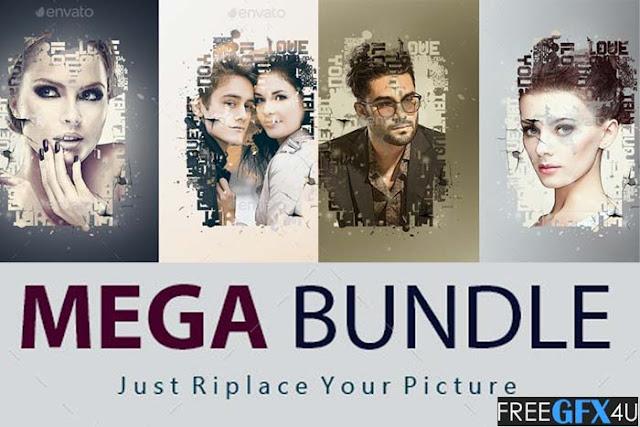 Picture PSD Mockup Mega Bundle