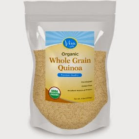 via labs whole grain quinoa pack