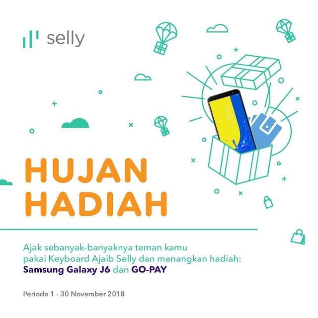 Hujan Hadiah dari Selly, Berupa Samsung Galaxy J6