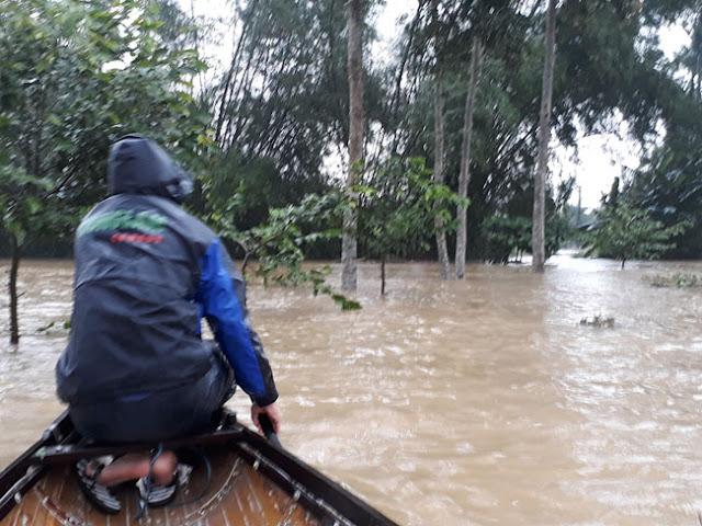 Chùm ảnh lũ lụt tại Giáo xứ Dương Sơn – Huế - Ảnh minh hoạ 20