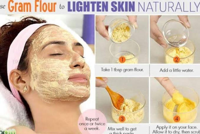 Gram flour (Skin Care Tips)