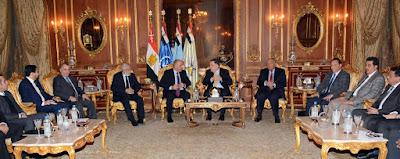 تواصل الجهود المصرية مع الأطراف الليبية للخروج من الإنسداد السياسى