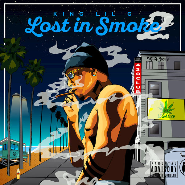 King Lil G - Lost In Smoke 2 Cover