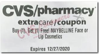 cvs maybelline bogo free coupon