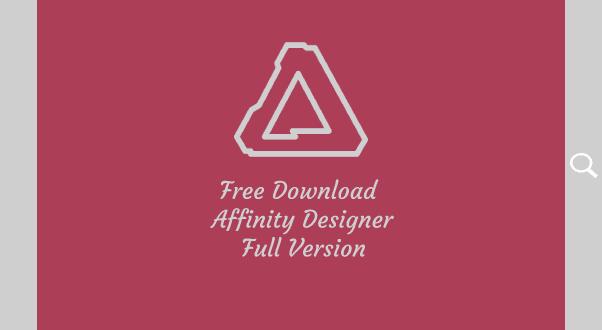 Free Download Affinity Designer full version
