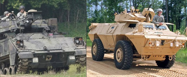 Στρατός Ξηράς: «Κλειδώνει» Έβρο και νησιά με νέα τεθωρακισμένα-Ποια είναι τα M1117 και τα Bradley