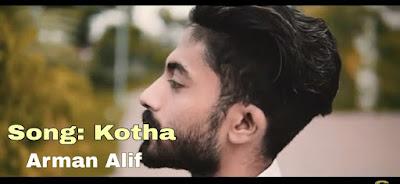 kotha-arman-alif-lyrics