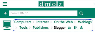 Dmoz directory site blog & websites submit