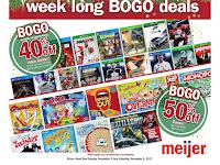 Meijer Weekly Ad December 10 - 16, 2017