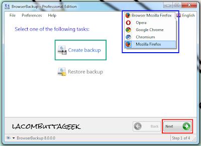 Come eseguire il backup delle impostazioni di Firefox