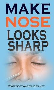 Make Nose Looks sharp