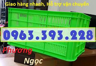sotcao31 - Sọt nhựa rỗng HS004 cao 31, sọt nhựa đựng nông sản, sóng nhựa hở HS004