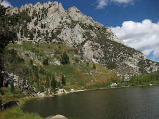 First lake near Table Mountain, Tyee Lakes Trail, Inyo National Forest, California