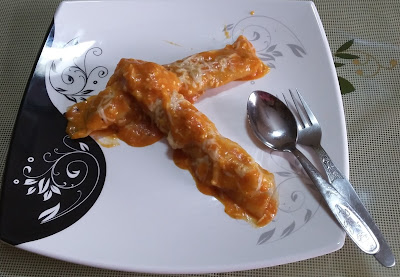 Cannelloni (Veg) From Imperial Inn