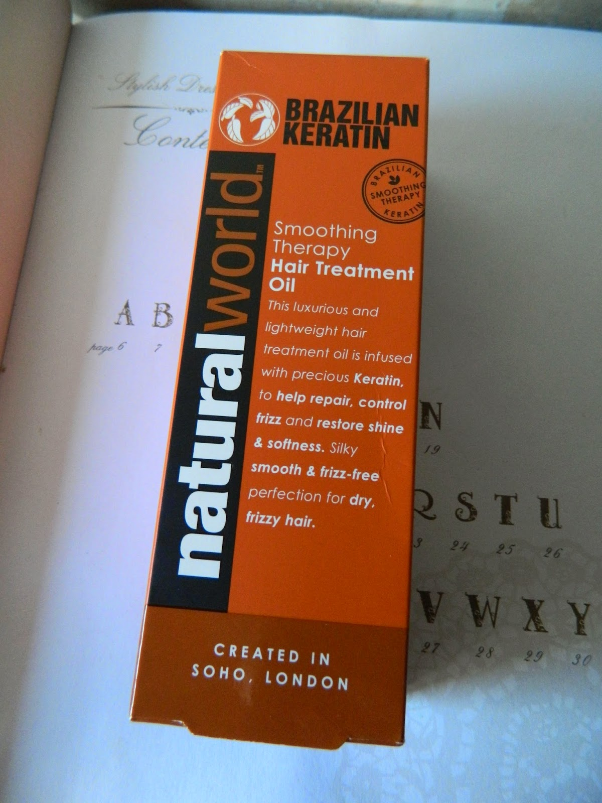 Natural World Brazilian Keratin Hair Treatment Oil Review