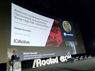 RootedCon 2019 - Daniel Kachakil - Android's Download Provider