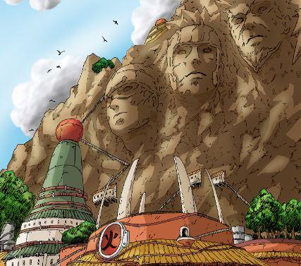 Ninja villages ~ fans of naruto